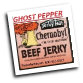"Chernobyl ""Painfully Hot"" with Ghost pepper"